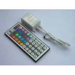 44-key Infrared RGB LED Controller with CE&RoHS Certificate