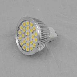 CE RoHS TUV approved 24pcs 5050 SMD led spotlight MR16