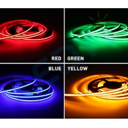 Colorful COB led strip light