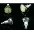 5050,3528 SMD LED 20pcs SMD led spotlight(E27,GU10,MR16,E14 base are vavilable)