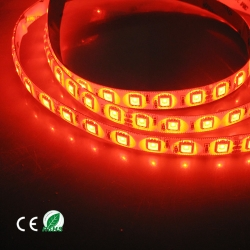 Red 5050 Strip , 60led high lumen led strip