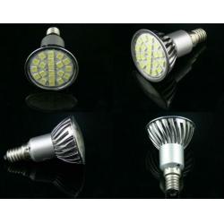 5050,3528 SMD LED 20pcs SMD led spotlight(E27,GU10,MR16,E14 base are vavilable)
