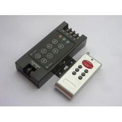 RF 8-key RGB LED controller with CE&RoHS certificate(Iron Version)