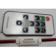 4A RF Mini Single Color  LED Controller + 10 Key Remote Control